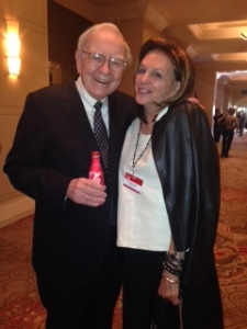 Warren Buffet & Christy Ferer